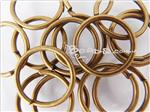 Jump-Ring Finding, 16MM Open Round, Antique Bronze electroplated