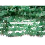 Green Aventurine Gemstone, Irregular Chips shape