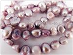Fresh Water Pearl Beads, Lavender, Nugget shape, 5-7mm long