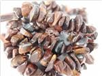 Red Tiger Eye Gemstone Beads, Irregular Chips shape